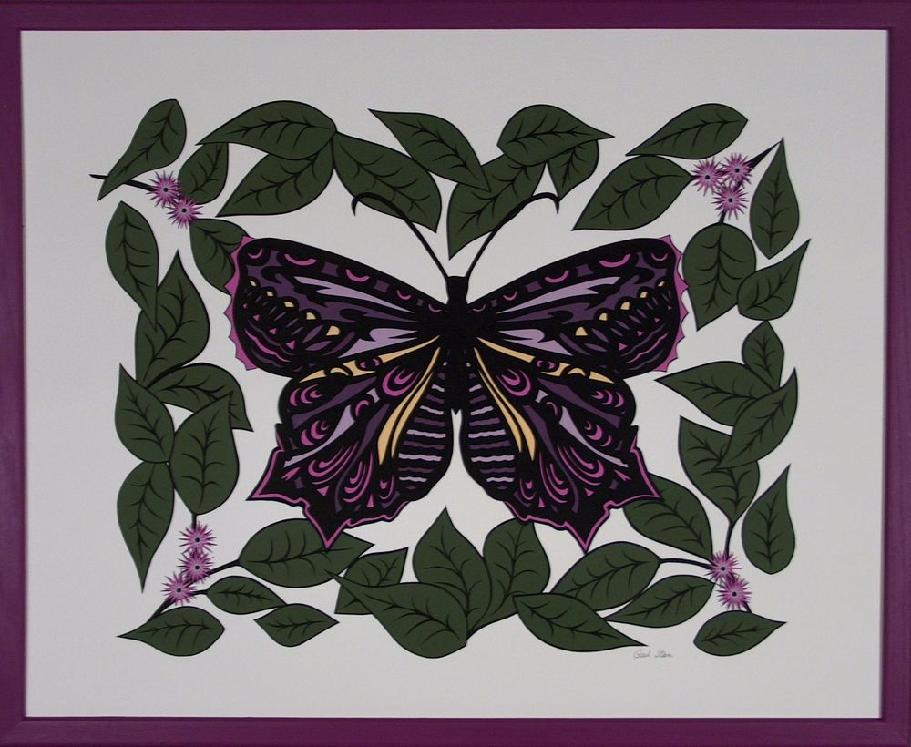 Butterfly in Pink:Purple:pink frame.jpg