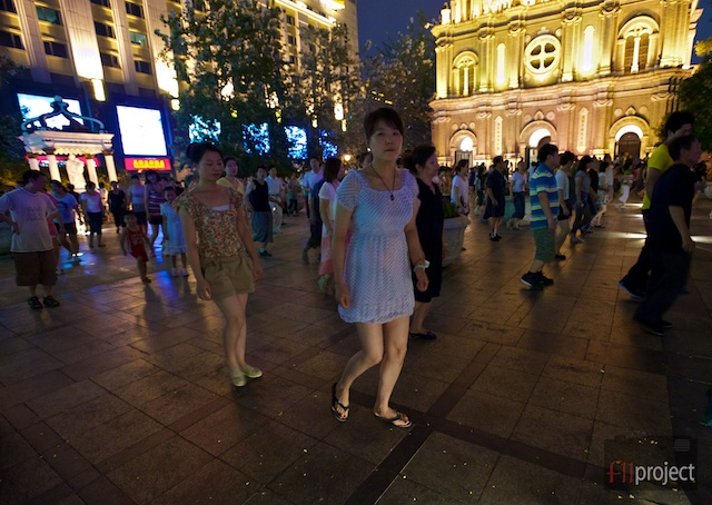 Wangfujing Street, Beijing, China