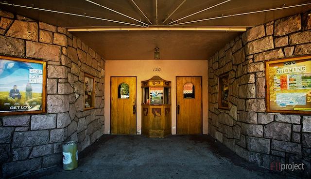 Cinema, Jackson Hole, Wyoming, USA