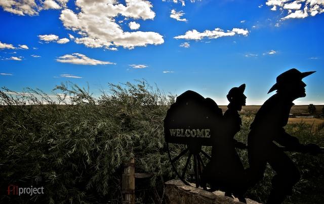 Mennonite farm, Wyoming, USA