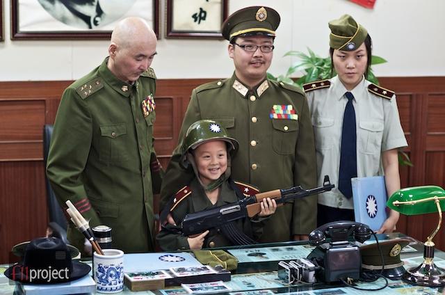 Faux Sun Yat Sen, Lishan, Xian, China