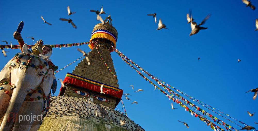 Boudhanth Stupa