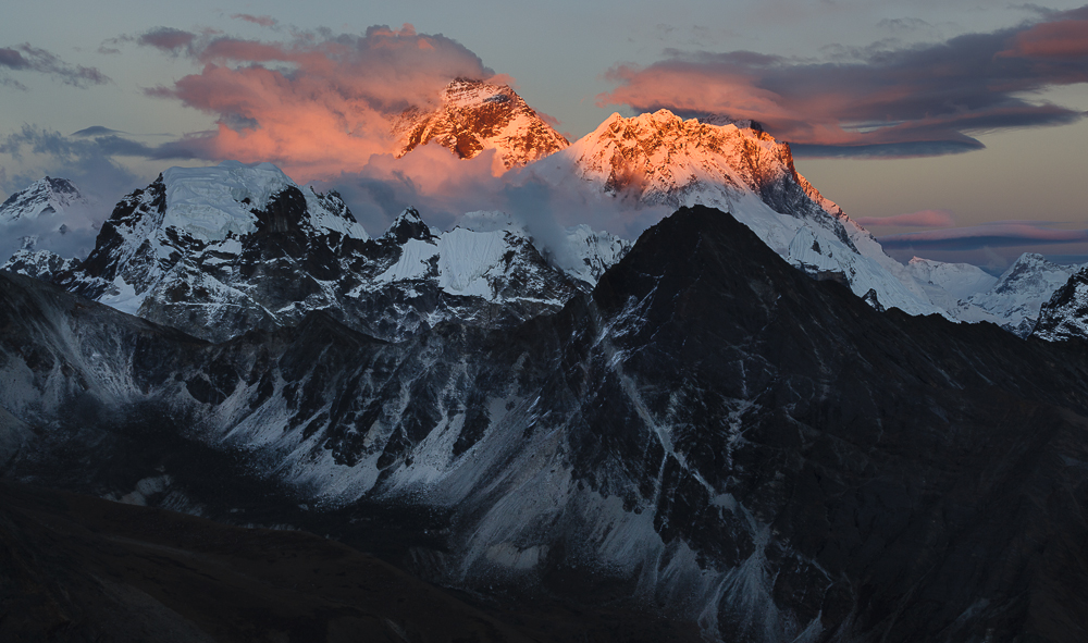Mount Everest from Gokyo Ri, Nepal.    Copyright © Ariel Estulin 2014