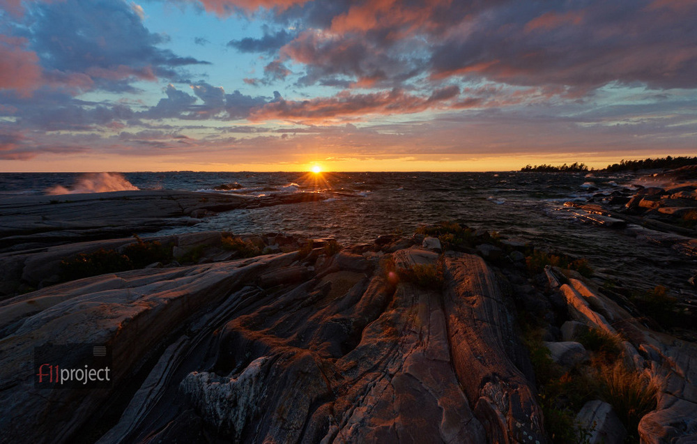 Franklin Island Sunset