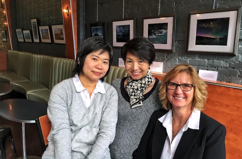 Jill Lam, Iris Leung, Susan Manzeer