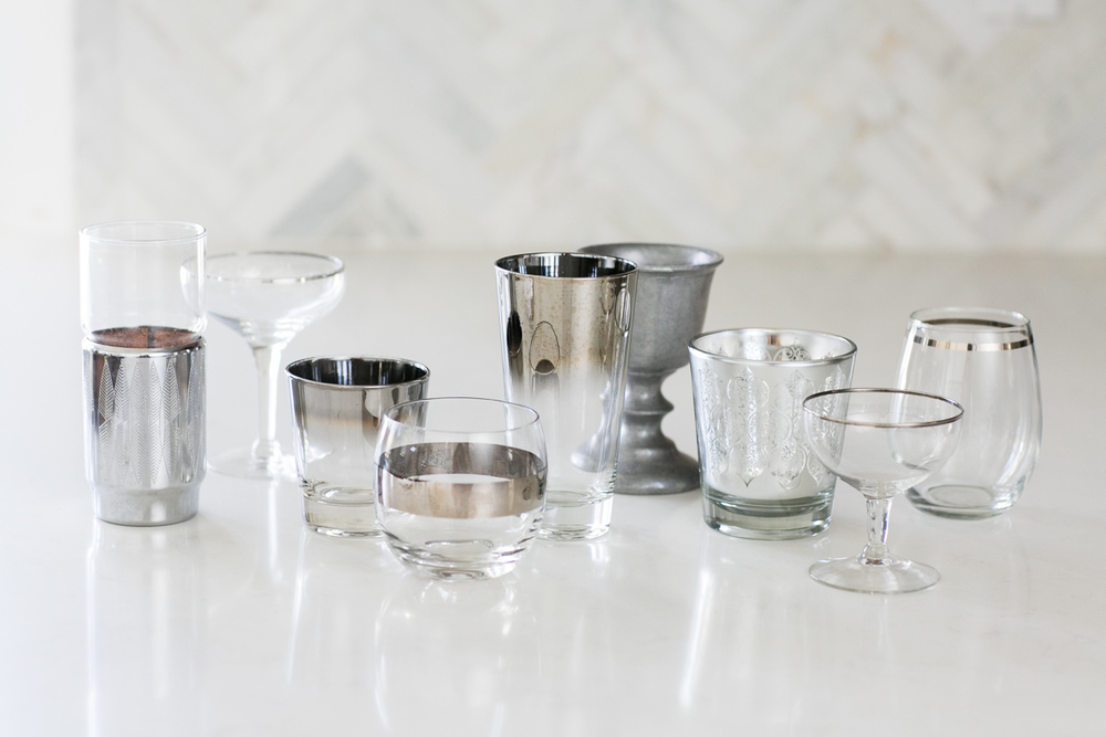 Assorted Silver Barware