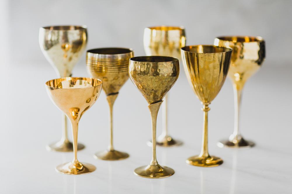 Metallic Goblet