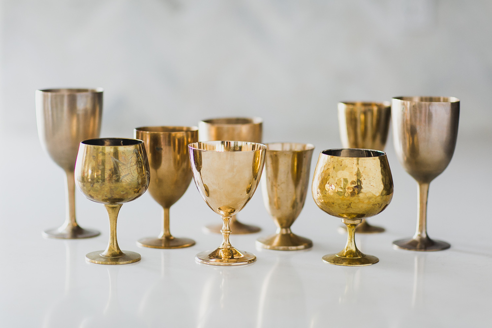Assorted Brass For Florals