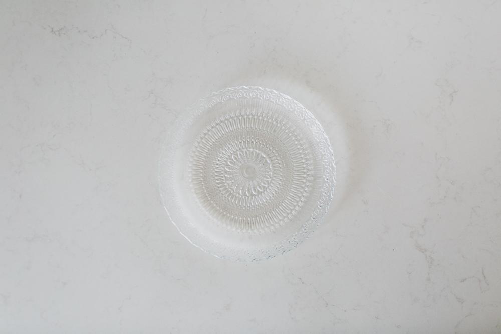 Crystal Salad/Dessert Plate