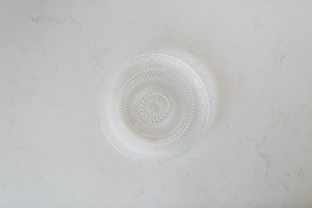 CRYSTAL SIDE PLATE