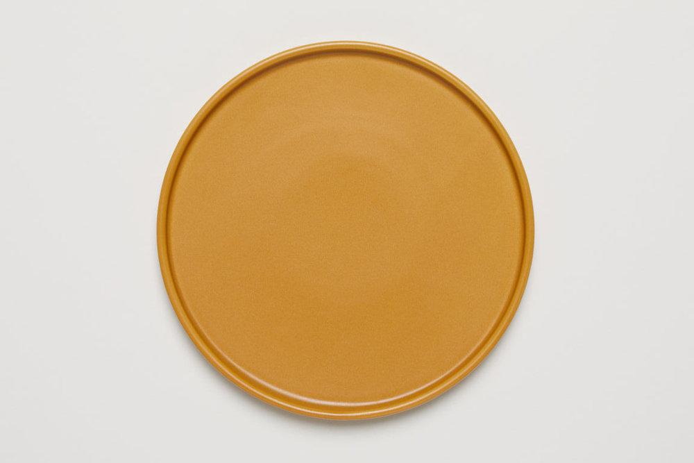 GOLDENROD SALAD PLATE