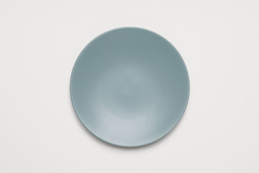 LIGHT TURQUOISE SALAD PLATE