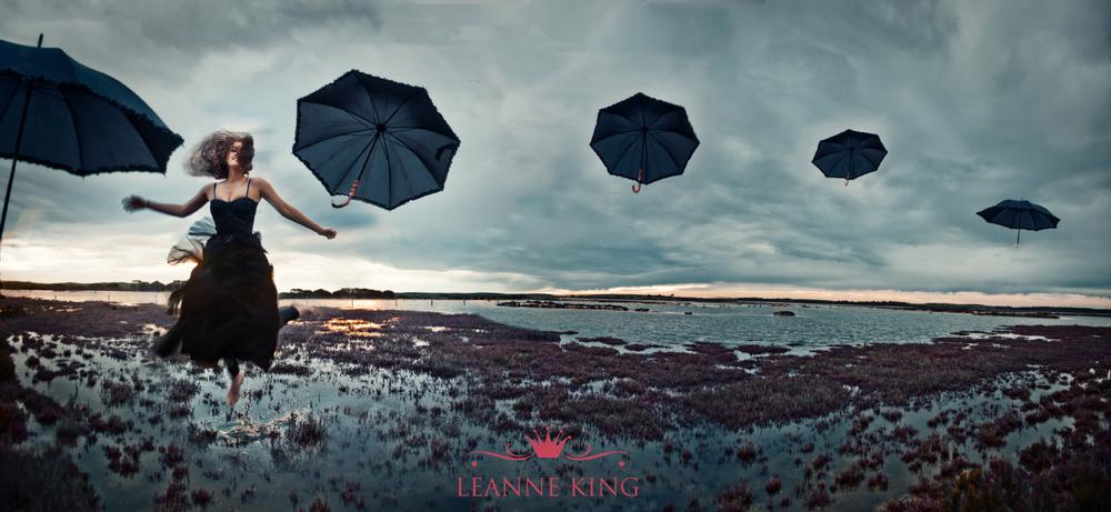 5 umbrellas