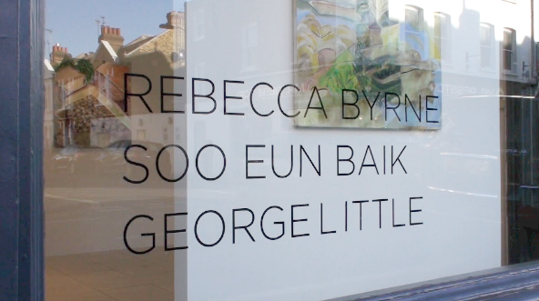 Rebecca Byrne, Soo Eun Baik and George Little Exhibition