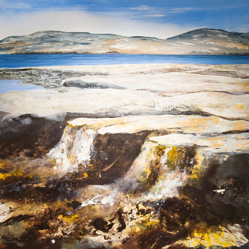 Kiltern Beach 1 Oil and acrylic on canvas 39 x 39 in. (100 x 100 cm) GCM0001