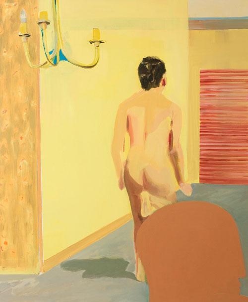Gabriella Boyd work 'Man Walking Towards a Bit of Red'