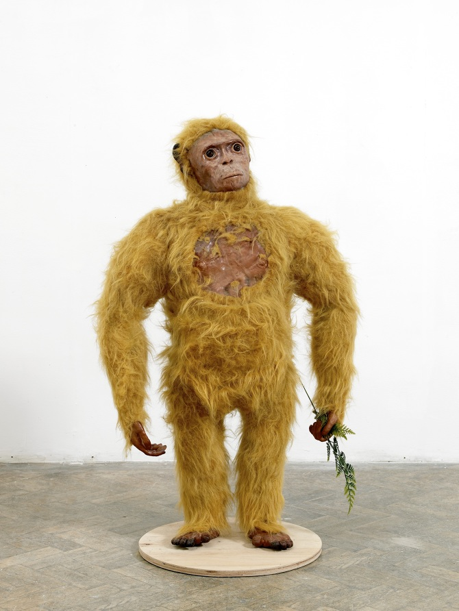 Orang-Pendek 48 in. tall (121 cm tall) Mixed media 2012