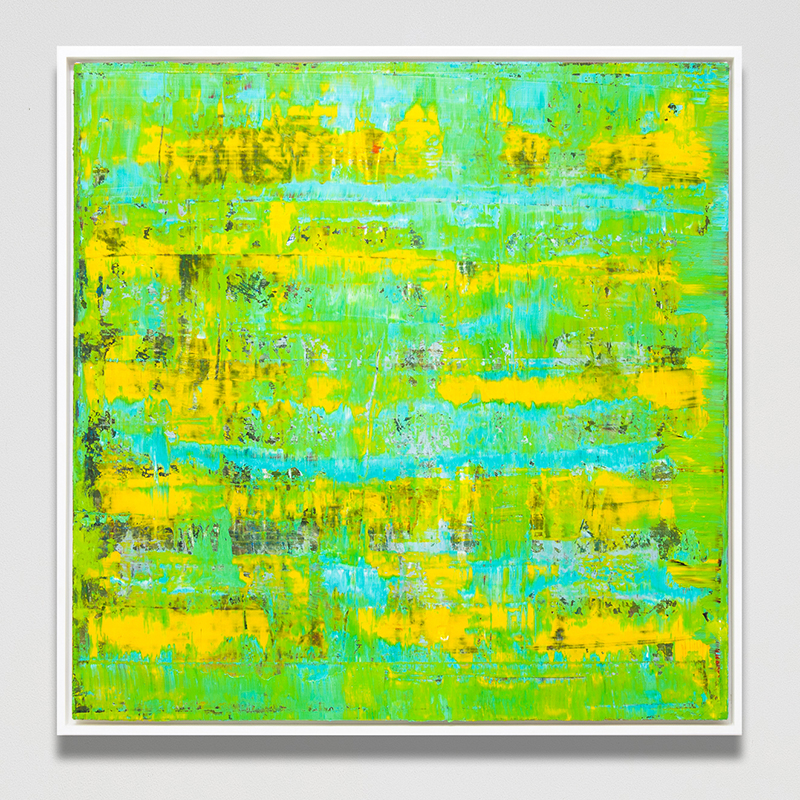 Bimini, 2014 Framed oil on canvas 104 x 104 cm 41 x 41 in ROW0008