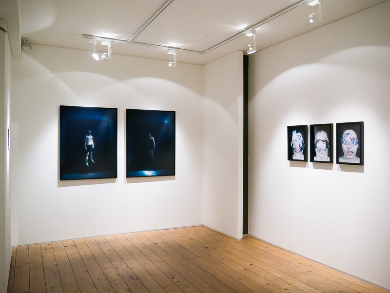 Installation view of Emma Critchley | At The Still Point of The Turning World