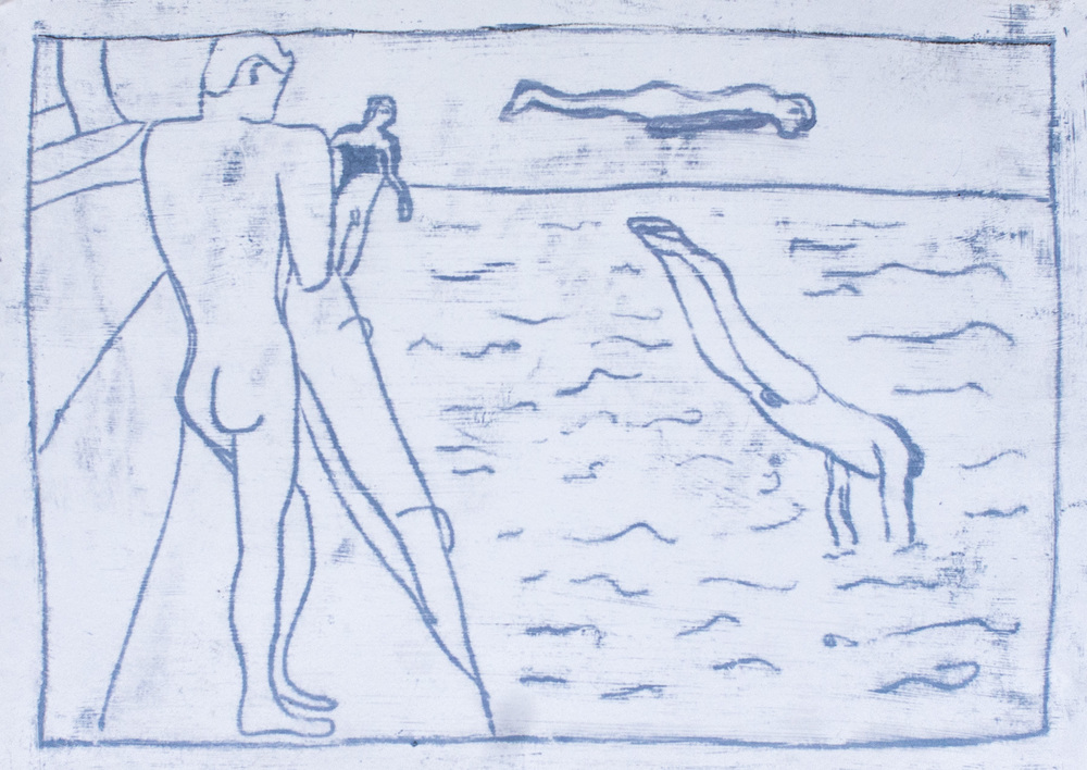 Sailors Swimming 2