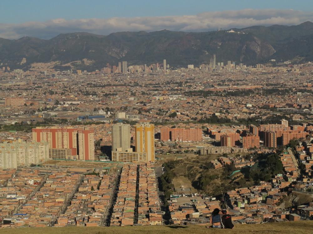 Bogotá – Vue de Altos de la Estancia