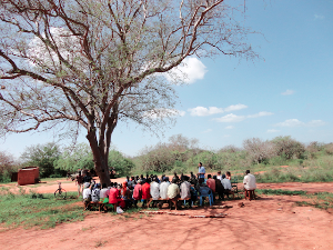 "TSAVO TRUST works from the inside out, rather than the outside in. We engage with our neighbouring communities to enable us to respond to their specific challenges, as opposed to imposing external ""remedies"" on them, which often they don't need."