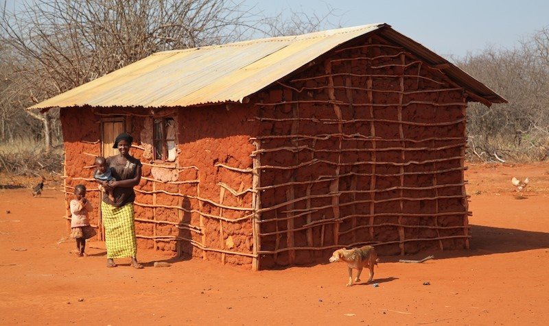 A typical WaKamba homestead