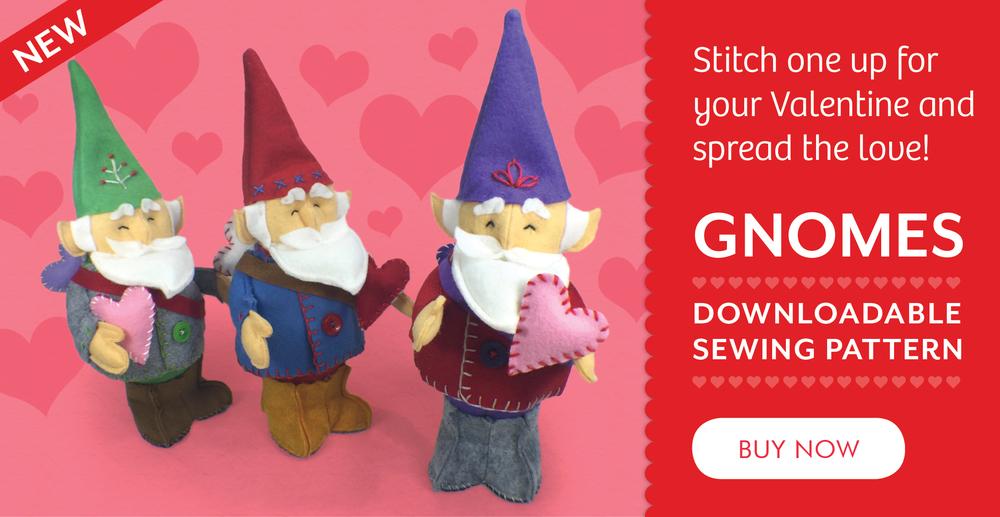 Gnomes Downloadable PDF Pattern