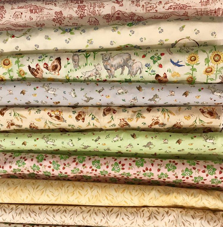 Country Days Fabric Launch Heidi Boyd