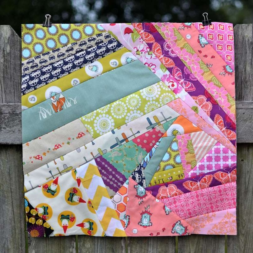 Crazy Quilt Pattern Fabric : announcing: Crazy Quilt Block Sewalong SewCanShe Free Sewing Patterns for Beginners
