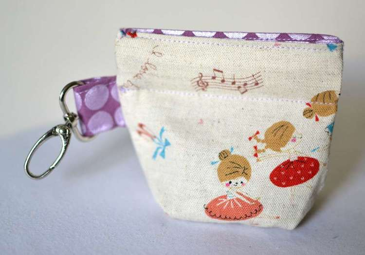 The Pleated Snappy Coin Purse! — SewCanShe | Free Sewing Patterns ...