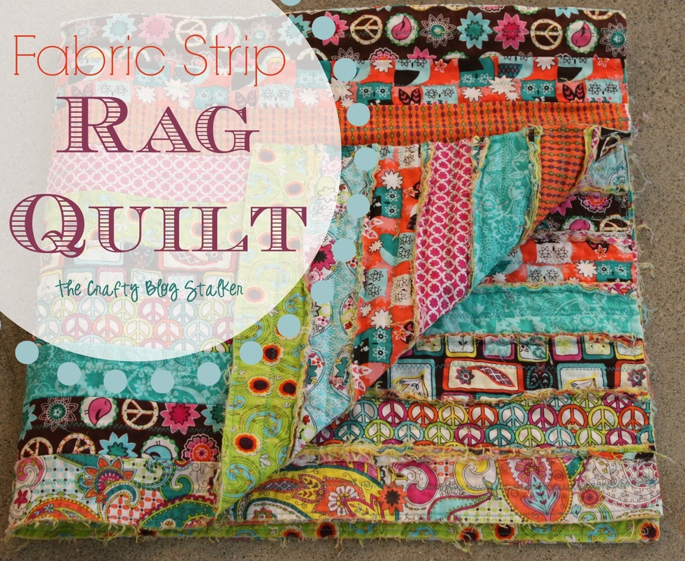 Guest Post Katie Shows How She Made Her Rag Quilt