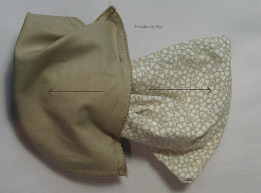 Linky Party Spotlight: Pam's Little Lined Drawstring Bags ...