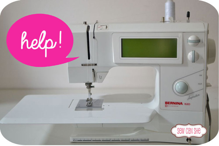 Sewist\'s Troubleshooting Steps {for the frustrated sewing machine ...