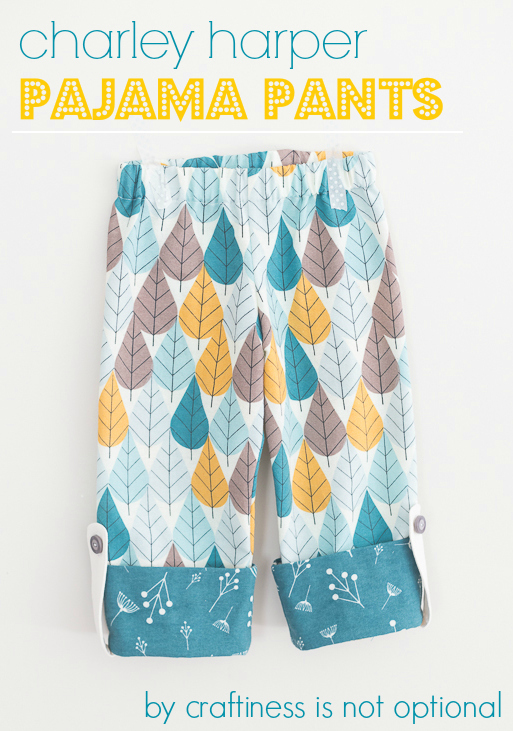 Charley Harper Pajama Pants by craftiness is not optional
