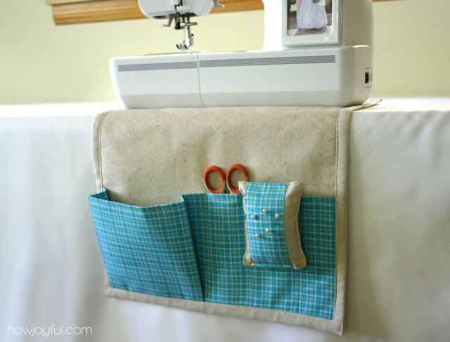 Sewing Caddy and Detachable Pin Cushion Tutorial from How Joyful