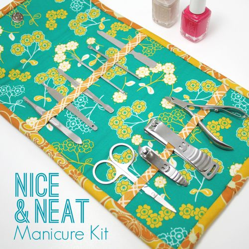 Nice and Neat Manicure Kit by i love linen