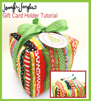 Gift Card Holder Tutorial from Jennifer Jangles