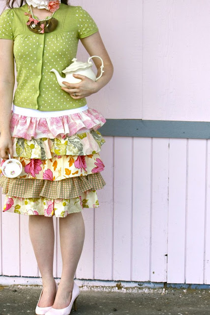 "Ruffles and Stuff ""Murphy's"" Layered Skirt!"