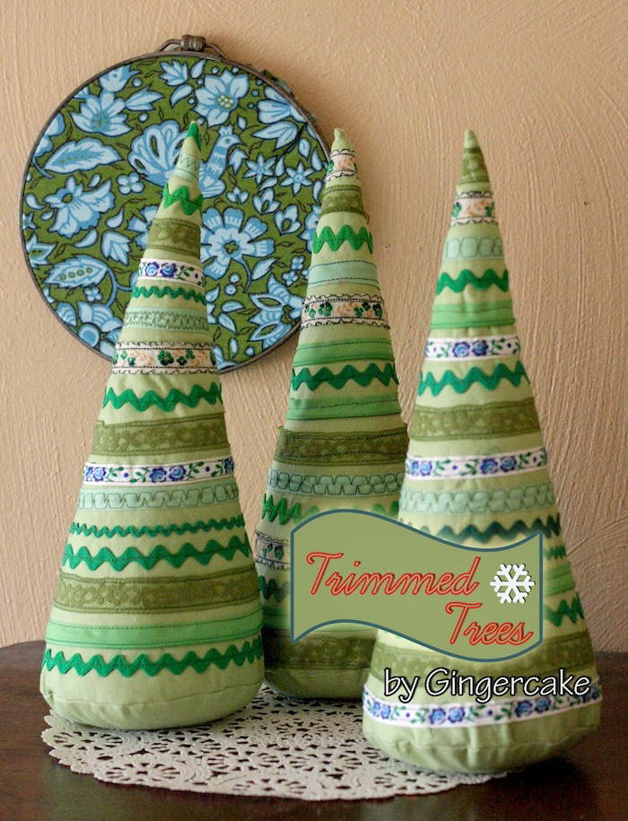 Trimmed Trees Holiday Sewing Tutorial from Prudent Baby