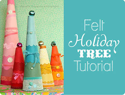 Felt Holiday Tree from Thompson Family