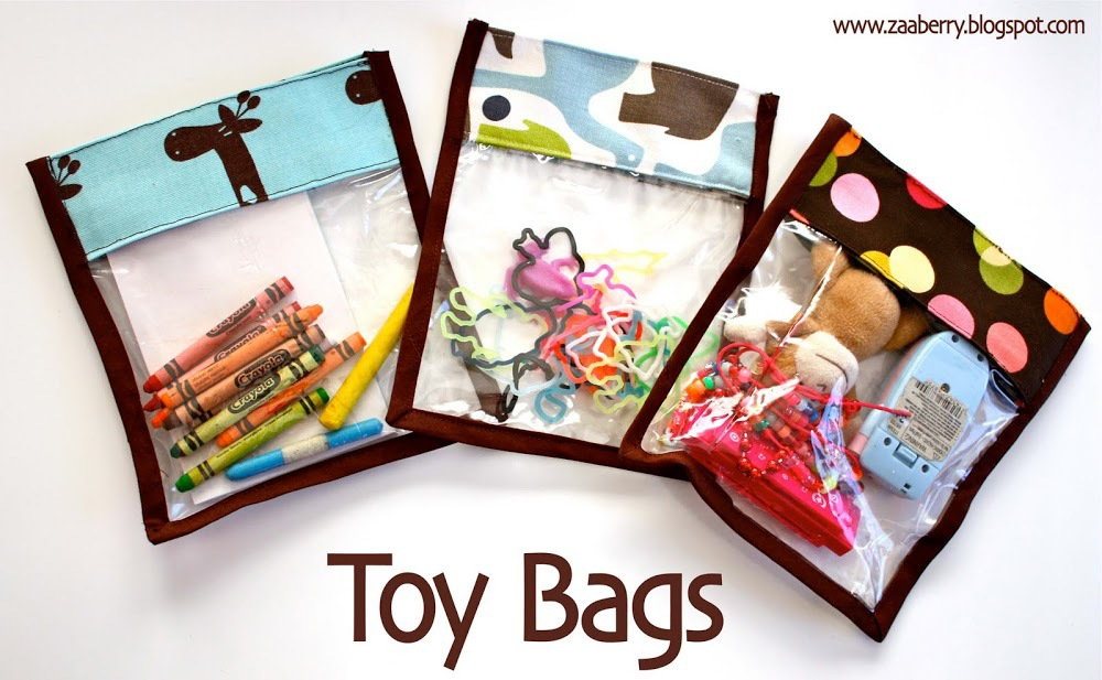 Toy Bag Tutorial by Zaaberry