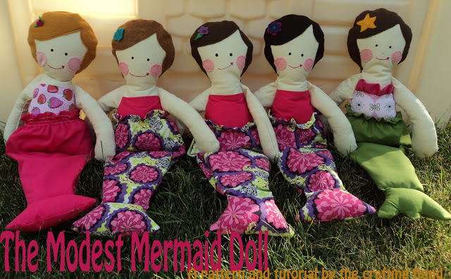 The Modest Mermaid by The Crafting Fiend