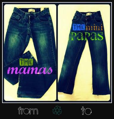 The Sloppy Jeans Tute by Mama Bear Says