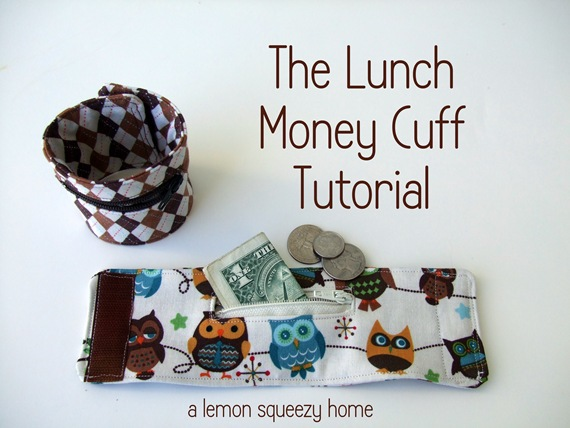 The Lunch Money Cuff by A Lemon Squeezy Home