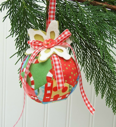Stuffed Christmas Ornament and Toy