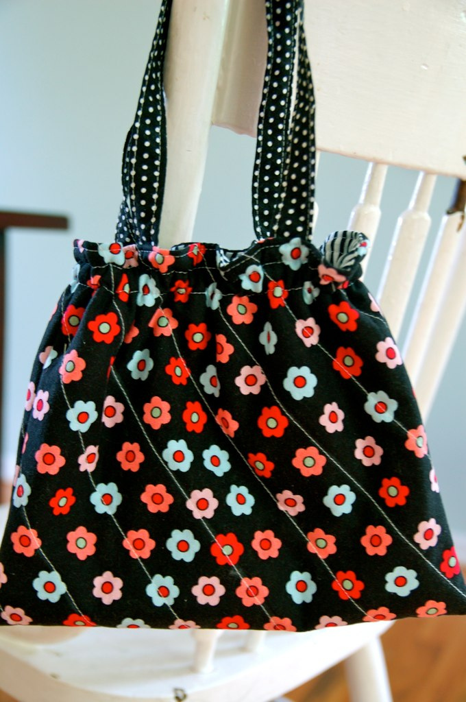 Little Girls Quilted Purse Tutorial by Fancy That