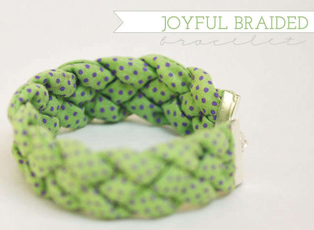 Joyful Braided Bracelet Tutorial