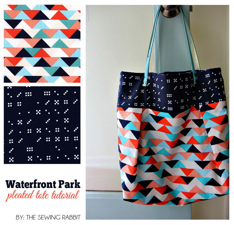 tote bag and purse sewing tutorials — SewCanShe | Free Sewing ...