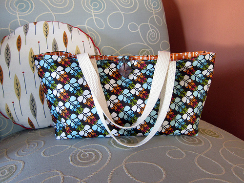 Half Tote Project - Narrow/Fat Quarter Friendly from Cicada Daydream